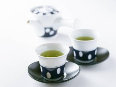 ショップ商品|可愛い水玉模様の茶器は、ご自宅用にも人気です!