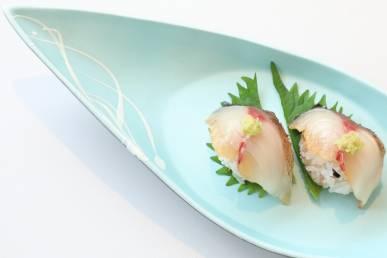 長崎ハーブ鯖炙り寿司 キヌア飯のしゃり