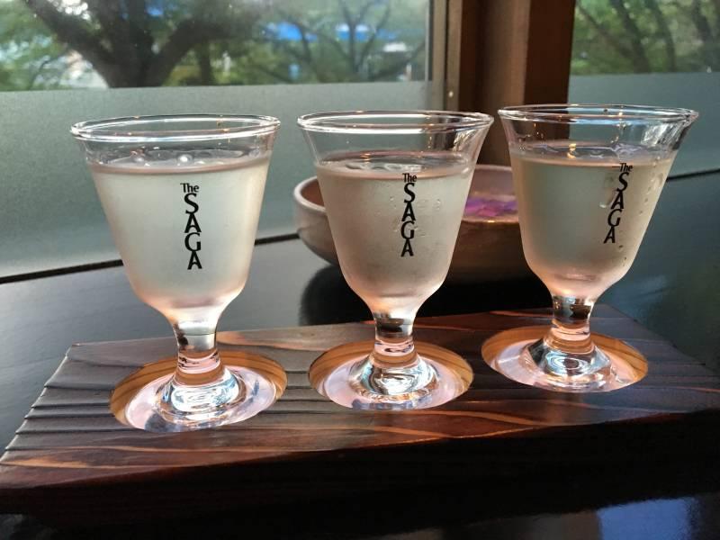 人気の利き酒セット ¥950(税抜)