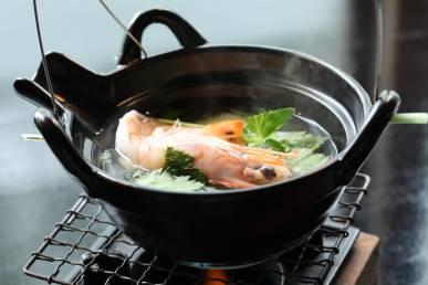 (一例)吸物:土瓶蒸し~鱧、松茸、海老~