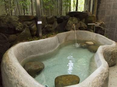 男女別大浴場 「熊野湯」露天