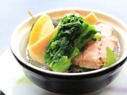 【焼物】きなこ豚・新竹の子・菜の花