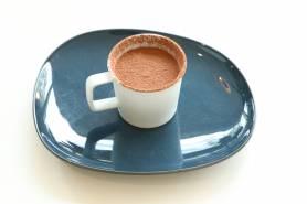 デザート:梨のティラミス~コーヒージュレ、豆乳ソース~