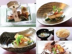 日本料理「十一口(といろ)」夜席 懐石料理(写真は一例です。)