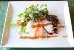海鮮サラダ仕立て