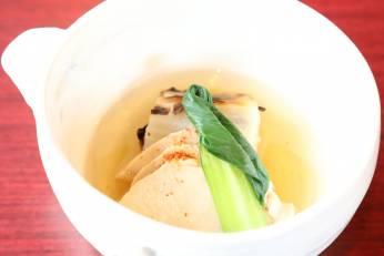 鶏肉と白菜のスープ煮