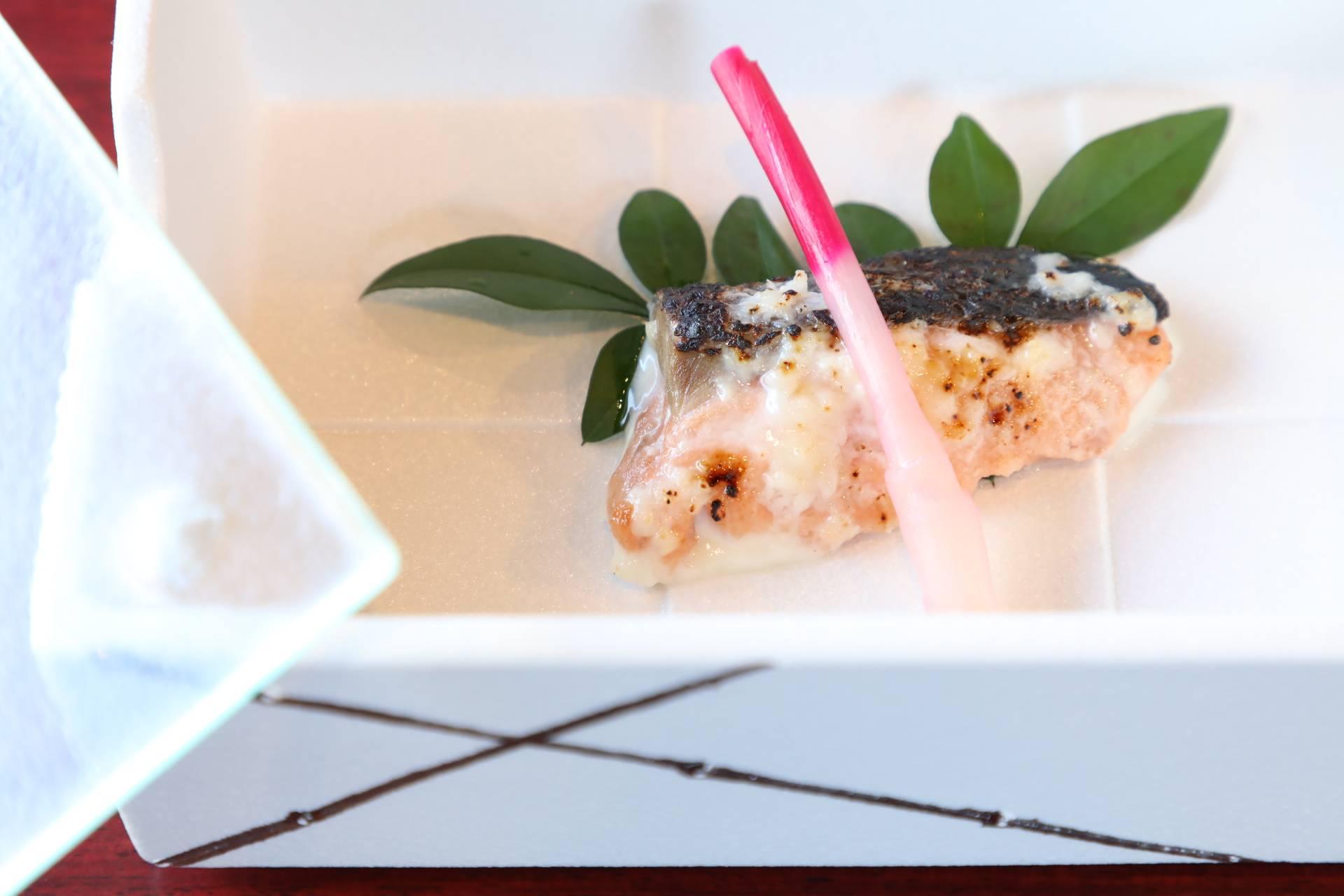 鮭の甘酒焼き