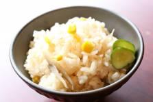 玉蜀黍ご飯