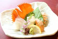(一例)刺身:団扇海老の姿盛り