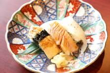 (一例)食事:旬魚の江戸前寿司