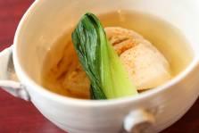 鶏肉と白菜のスープ煮     青梗菜 七味