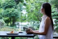 日本庭園を眺めながらごゆっくりと・・・