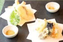 海老 季節野菜の天婦羅