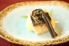 達磨鯛のポテトサラダ焼き